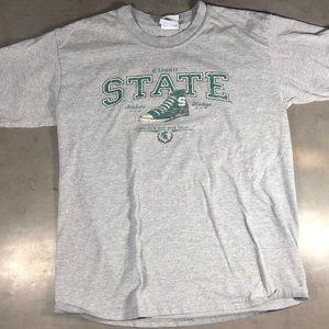 Michigan State Converse T-shirt
